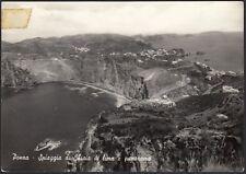 AA7899 Ponza (LT) - Spiaggia di Chiaia di luna e panorama - Cartolina postale