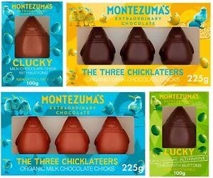 Montezuma's Easter Chocolate Chicks Organic Milk & Dark Chocolate Egg Bunny Hunt
