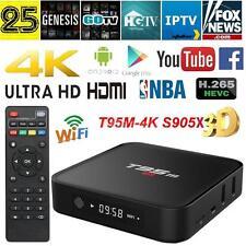 T95M Amlogic S905X Android 6.0 TV Box Quad Core WiFi H.265 Media Player 4K6