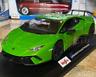 Lamborghini Huracan Performante Green Maisto 1:18 Diecast Model Super Car New