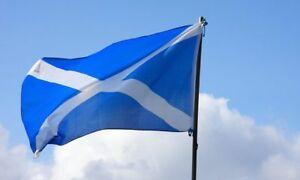 SCOTLAND 3FT x 2FT SALTIRE FLAG LARGE NATIONAL SCOTTISH ST ANDREWS SOUVENIR YES