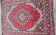 GENUINE ANTIQUE PERSIAN RUG/ CARPET 4.7 X 6.4