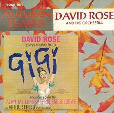 David Rose - Autumn Leaves & David Rose Plays Music From Gigi (CD)
