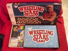 WWF Wrestling Stars 1985 game Hulk Hogan Milton Bradley WWE WCW