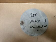 Stainless Steel Solid Round Disc 95mm