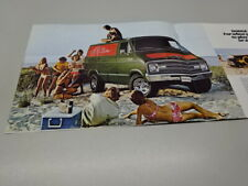 DODGE 'ADULT TOYS' BROCHURE, in ENGLISH. 1/77. WARLOCK, POWER WAGON, RAMCHARGER