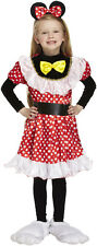 Girls Age 4-6 MOUSE GIRL - Minnie Mouse Style Fancy Dress Costume Book Week