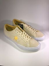 09d5e2df5cf69a VINTAGE CONVERSE ONE STAR Suede LOW Skate 159814C VANILLA SHOES US Men 10