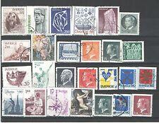 Q7092 - SVEZIA - 1966 - LOTTO USATI DIFFERENTI - VEDI FOTO
