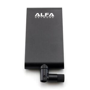 Used Alfa APA-M25 Dual Band 10dBi Wireless Wi-Fi RP-SMA Directonal Indoor Antenn