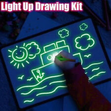 Toys for Kids Light Drawing Board Pad Doodle Writing Educational Girls Xmas Gift