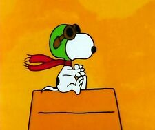 SNOOPY#2 ORANGE BACKGROUND  COMPUTER MOUSE PAD 9 X 7