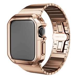Stainless Steel Wrist iWatch Band Strap+Case For Apple Watch Series 6 5 4 3 2 SE