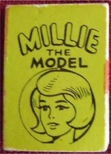 1966 MARVEL MINI BOOK MILLIE THE MODEL LIME GREEN RARE PROMO GIVEAWAY NM