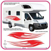Motorhome Vinyl Graphics Stickers Decals, Camper Van RV Caravan Horsebox mh1a