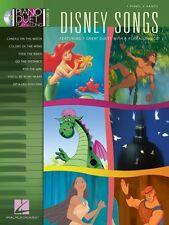 Disney Songs Sheet Music Piano Duet Play-Along Book and CD NEW 000290551