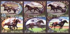 Nouvelle-Zélande 2002 Année du Cheval Ensemble de 6 Non montés excellent état