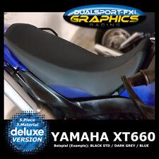 """Dsfx-Yamaha XT 660 X R """"XL"""" Housse de siège, enrobage, Seat Cover, housse de siège 660"""