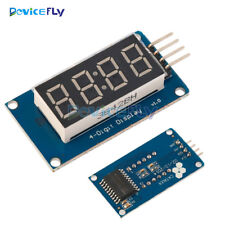 Top 4 Bits Digital Tube LED Clock Display TM1637 Module For Arduino