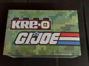 SDCC Kre-O GI Joe Sgt Slaughter Box Construction Commandos