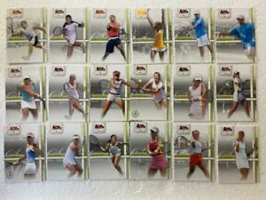 """LOT OF EIGHTEEN (18) 2007 ACE AUTHENTIC STRAIGHT SETS """"BRONZE"""" PARALLEL CARDS!"""