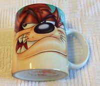 TAZ Mug Tasmanian Devil Mug 1997 Looney Tunes Used  Warner Brothers TAZ
