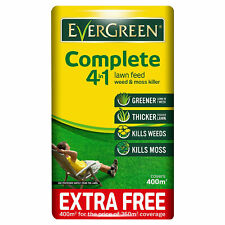 Miracle Gro EverGreen Complete 4 in 1 Lawn Food, Weed and Moss Control - 14kg