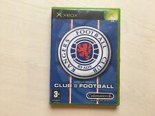 Rangers Club Football Xbox Game UK PAL gebraucht