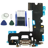 OEM Charger Charging Port Dock Headphone MIC Flex Cable For iPhone 7 4.7 white