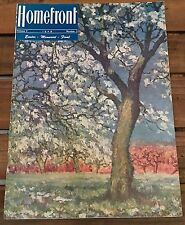 Homefront Magazine Bangor PA Slate Belt WWII Vol V 1946 No. 2 Easter Final Issue