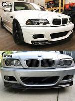 UNPAINTED 01-06 BMW E46 M3 CSL look typ II FRONT LIP SPLITTER SPOILER