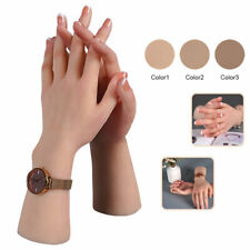 Bendable Simulation Silicone Hand Model Mannequin For Jewelry Artistic Sketches