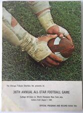 1969   Annual All-Star Football Game College All-Stars Vs New York Jets Program
