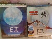 4K E.T. 35th Anniversary Edition + Steelbook (4K UHD Disc/Blu RayDisc/DVD)