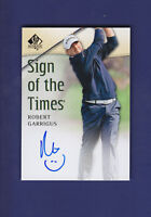 Robert Garrigus 2013 Upper Deck Golf SP Authentic Sign of the Times (MINT)