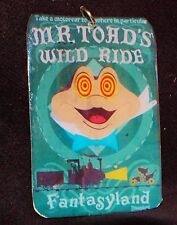 Disneyland Mr Toad Ride Attraction Poster Ornament Keychain Pendant Necklace