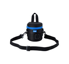 JJC DLP-1II Waterproof Lens Pouch +Strap for Canon 50mm,18-55mm,Fujifilm XF 23mm