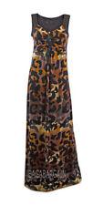 Wallis Full Length Animal Print Sleeveless Dresses for Women