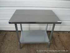 """New Stainless Steel Work Prep Table 36"""" x 24"""" , Nsf"""