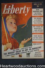 "Liberty Apr 10, 1943 Cornell Woolrich ""Phantom Lady"", Oscar Schisgall"