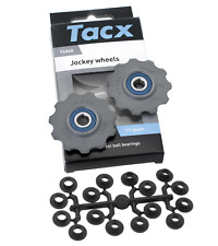 Tacx T4060 Jockey Wheels, Pulley Set, Shimano 9/10 Speed, 11 Tooth, SS Bearings