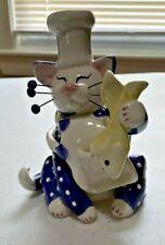 2001 Lacombe Ceramic Cat Figurine - Cheh - Willits Design #86045
