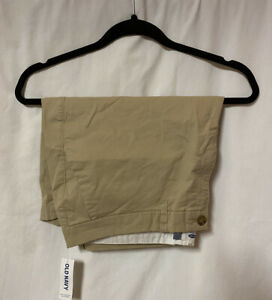 NWT Old Navy Khaki Bermuda Shorts Tan 16