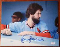 Bruce Sutter Hof 06 Psa Dna Coa Hand Signed 11x14 Photo  Authentic Autograph