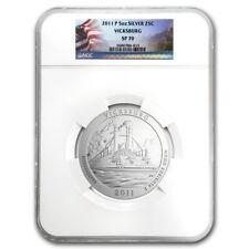 2011-P Vicksburg NGC SP70 America The Beautiful 5 Oz Silver Coin