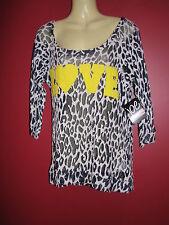 JOE by JOE BOXER Women's Sheer Knit LOVE Sweater - Size Large - NWT