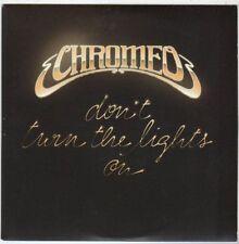 (EM858) Chromeo, Don't Turn The Lights On - 2010 DJ CD