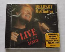 Delbert McCLINTON Live from Austin EUROPE CD ALLIGATOR ALCD 4773 (1989)  SEALED