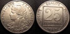 France - IIIème République - 25 centimes Patey 1903 - F.168/3