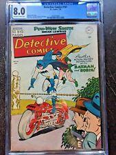DETECTIVE COMICS #161 CGC VF 8.0; OW-W; Win Mortimer motorcycle cvr! scarce!